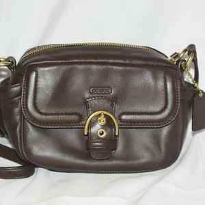 Coach Bags - Coach 25150 Campbell Small Leather Crossbody Purse